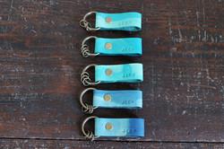 leather key ring