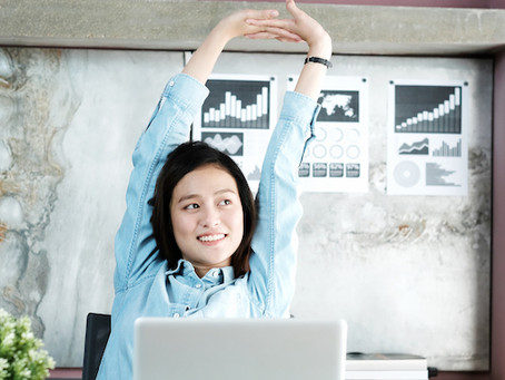8 Stretches You Can Do From Your Office Desk