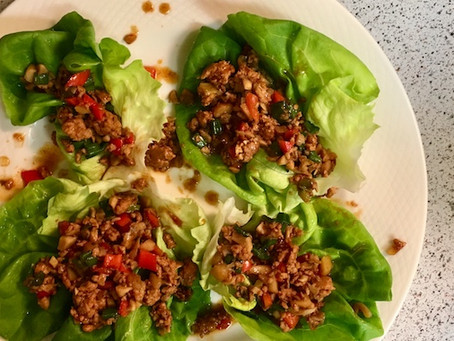 The Best Chicken Lettuce Wraps Ever
