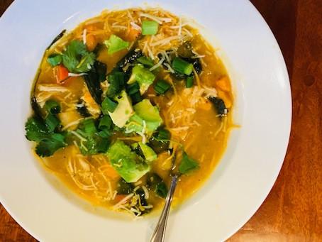 Healthy Paleo Chicken Enchilada Soup