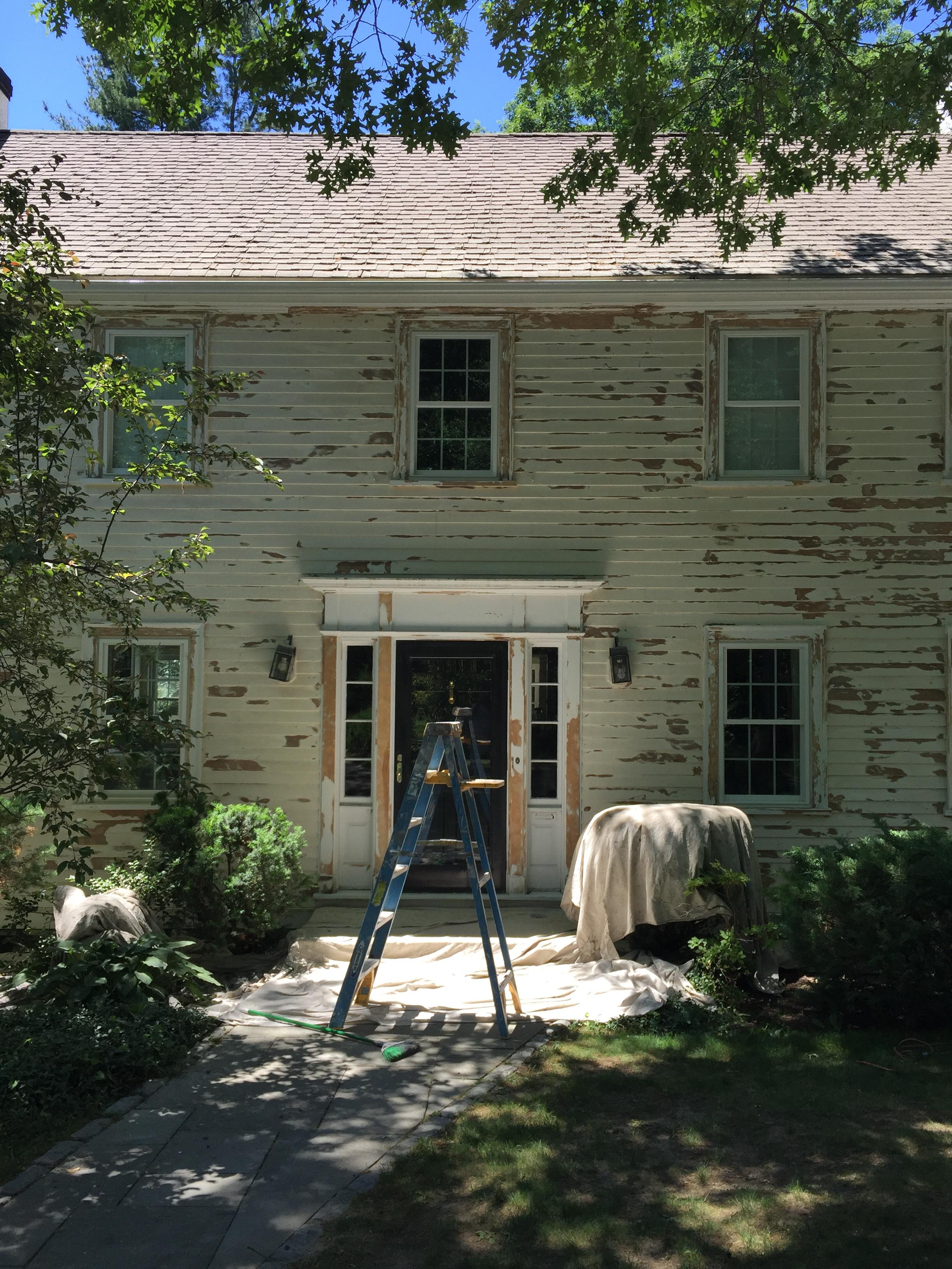 Preparation - Thorough sanding