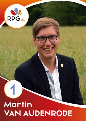 1er - Martin Van Audenrode - Gesves