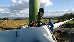 GESVES - 10/10/2017 - Réunion d'information sur l'éolienne coopérative