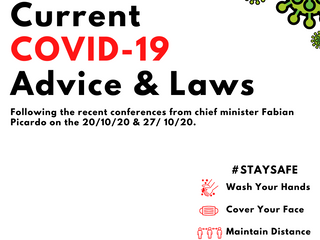 Current COVID-19 Laws & Public Advice