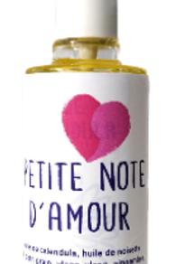 """Huile de massage """"Petite note d'amour"""""""