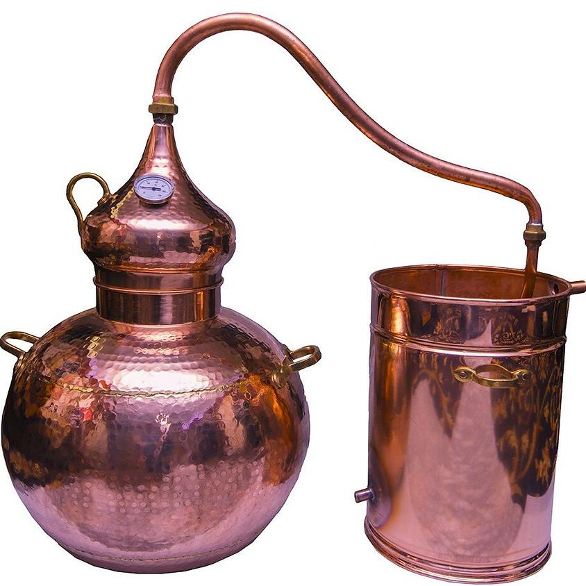 Démonstration de l'alambic et astuces pour faire ses hydrolat maison