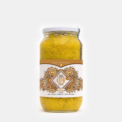 Ginger & Turmeric KEFIR KRAUT - 1kg