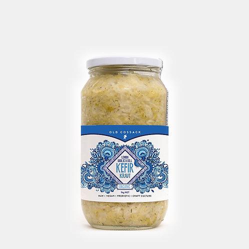 Lemon Garlic & Dill KEFIR KRAUT - 1kg