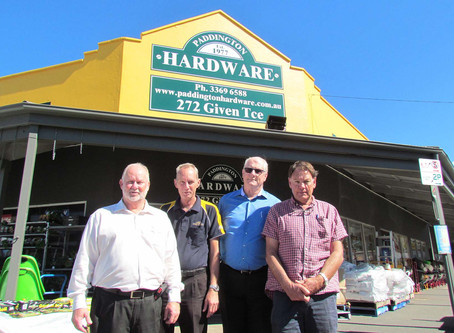 Paddington Hardware nails down electricity costs.