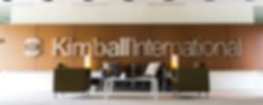 Kimball International Lobby featuring 2 chairs and a sofa