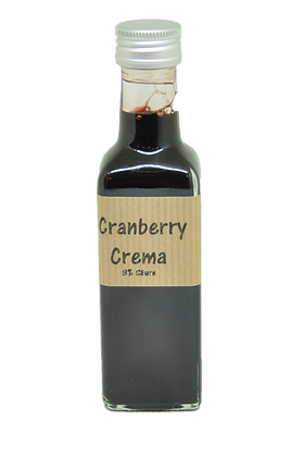 Cranberry Crema