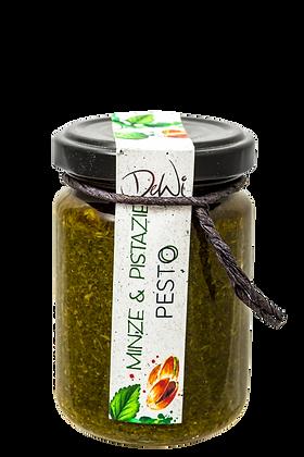Pistazie und Minze Pesto