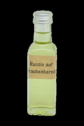 Rucola auf Traubenkernöl