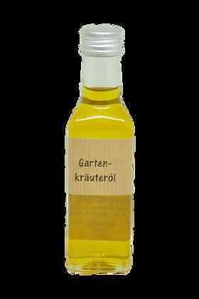 Gartenkräuter Öl