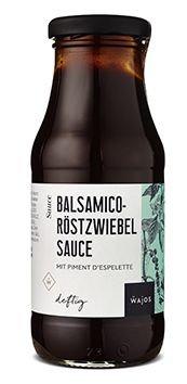 Balsamico Röstzwiebel Sauce