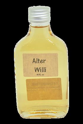Alter Willi in der Taschenflasche 40 % Vol.