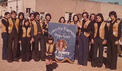 Associados do LEO Clube Dom Pedrito,  décimo LEO Clube fundado no Brasil.
