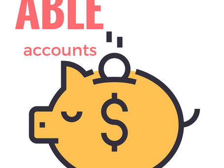 INFO SESSION / Understanding ABLE Accounts / October 29, 2019 at 6:30 p.m.