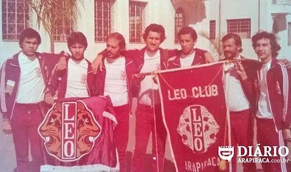 Associados do LEO Clube daArapiraca,  segundo LEO Clube fundado no Brasil.