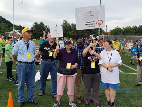 MARC Participants Shine In Special Olympics