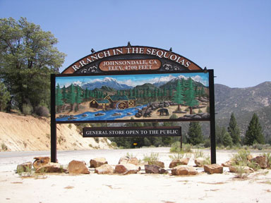 R-Ranch in the Sequoias