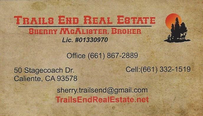 Trails End Real Estate
