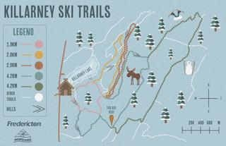 Killarney Lake Ski Trails Map Redesign