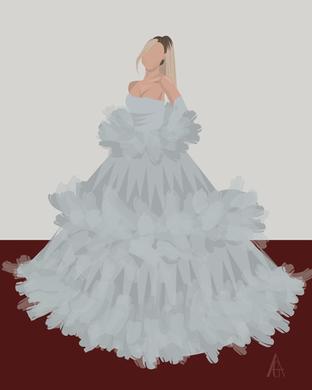Ariana Grande Illustration