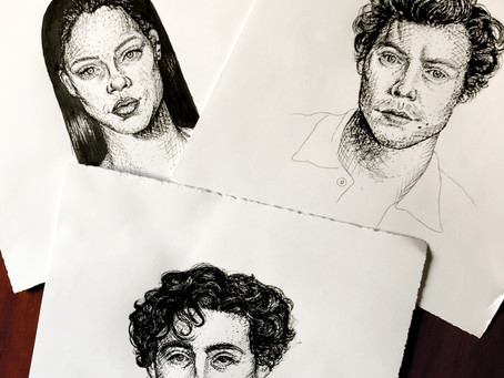 Project Diary: Ink Portraits