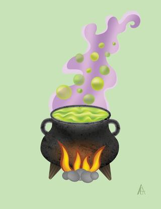 Cauldron Illustration