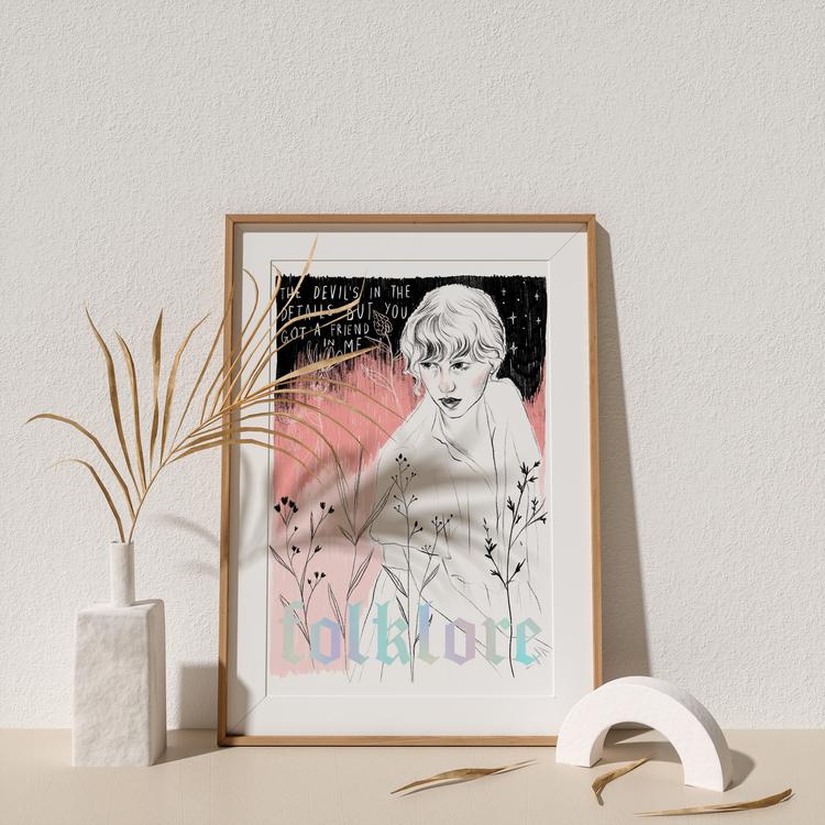 'Folklore' by Bethany Mannion, AKA Spilt Milk Press