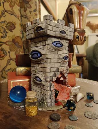 Mimic Dice Tower | The Monster Inn
