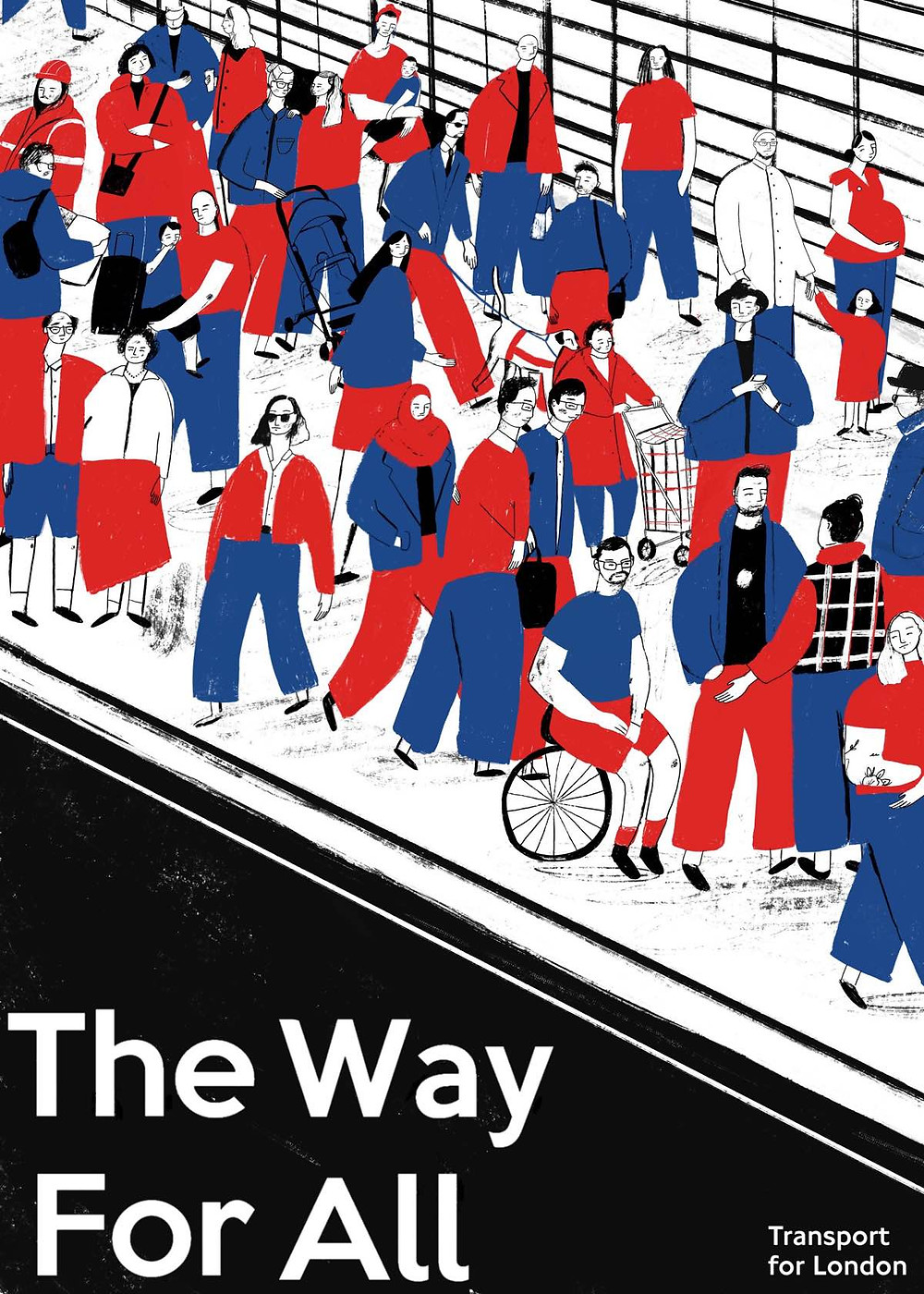 'TFL: The Way for All' by illustrator Lizzie Knott