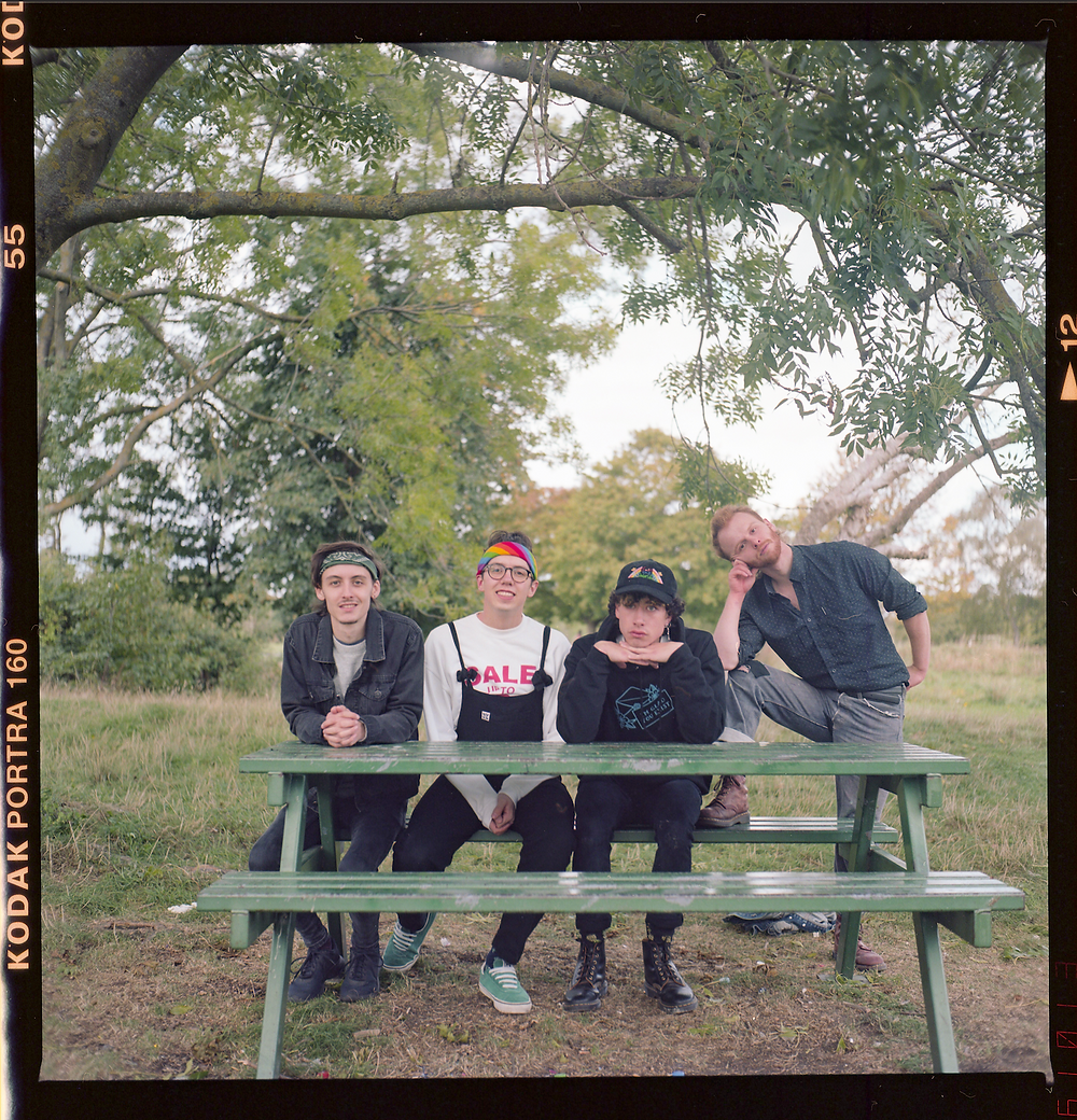 Croydon-based boyband Bears In Trees (also favourite band of Lux Lucet Assistant Editor, Rachel). Photography: Emma Birdsall