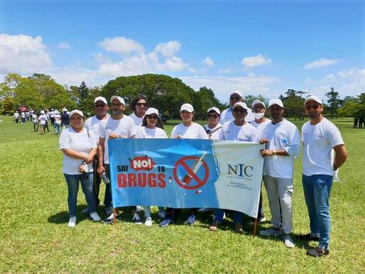 Une marche pacifique pour dire non à la drogue