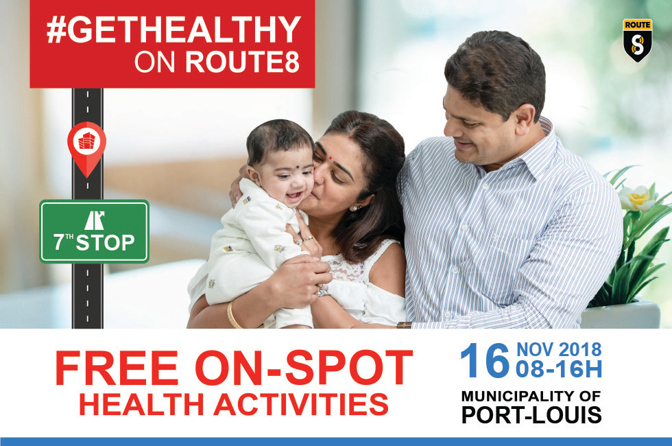 NIC - GETHEALTHY ON ROUTE8 - 7th STOP -