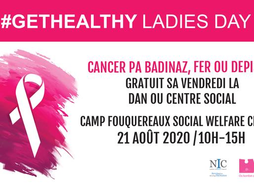 GetHealthy Ladies Day vous donne rendez-vous à Camp Fouquereaux