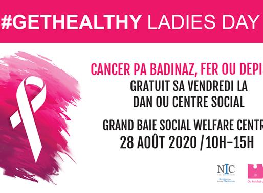 GetHealthy Ladies Day vous donne rendez-vous à Grand Baie