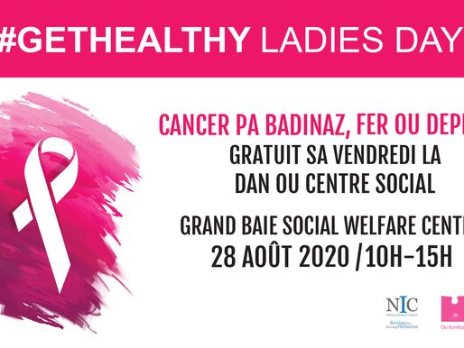 GetHealthy Ladies Day vous donne rendez-vous à Grand Baie