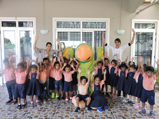 WIKI at Fairyland Kids Pre-Primary School for #GetHealthy Kids Day