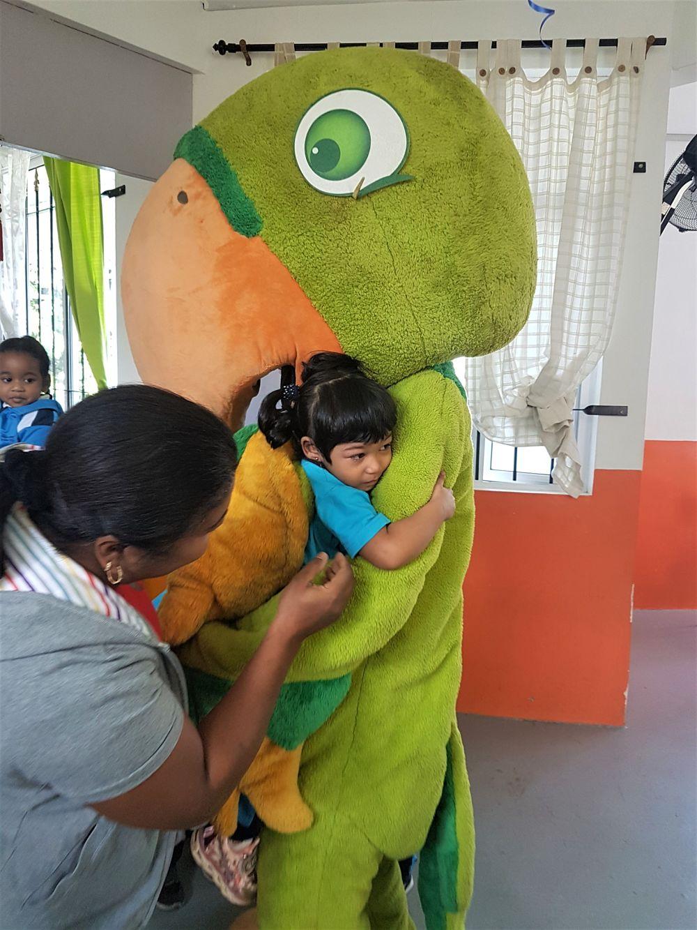#GetHealthy Kids Day - The Cuddles