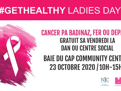 GetHealthy Ladies Day vous donne rendez-vous à Baie Du Cap
