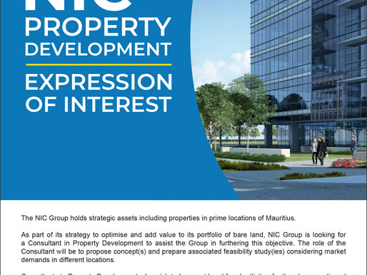 Expression of Interest - NIC Property Development