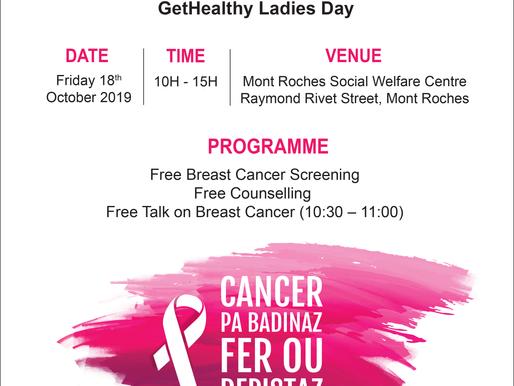 Rendez-vous au #GetHealthy Ladies Day à Mont Roches