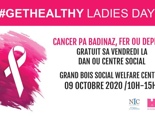 GetHealthy Ladies Day vous donne rendez-vous à Grand Bois