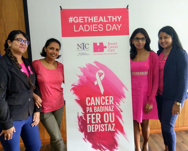 NIC GetHealthy Ladies Day NIC Centre