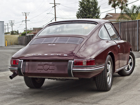 Porsche 912 from Zero to 60 in 2 stages of correction