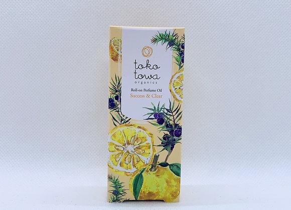 tokotowa organics ロールオンパフュームオイル (イエロー)