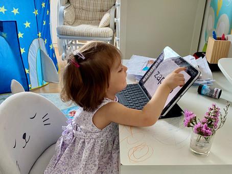 Los cuentos de Paula (II). El método Doman para enseñar a leer a niños muy pequeños.