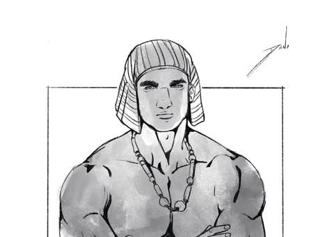 El antagonista. Horemheb, hermoso y sádico.